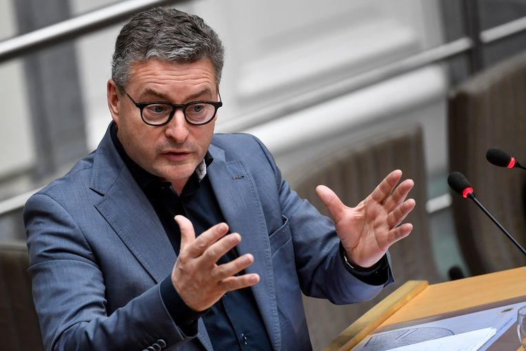 Vlaams minister van Omgeving, Natuur en Landbouw Koen Van den Heuvel.