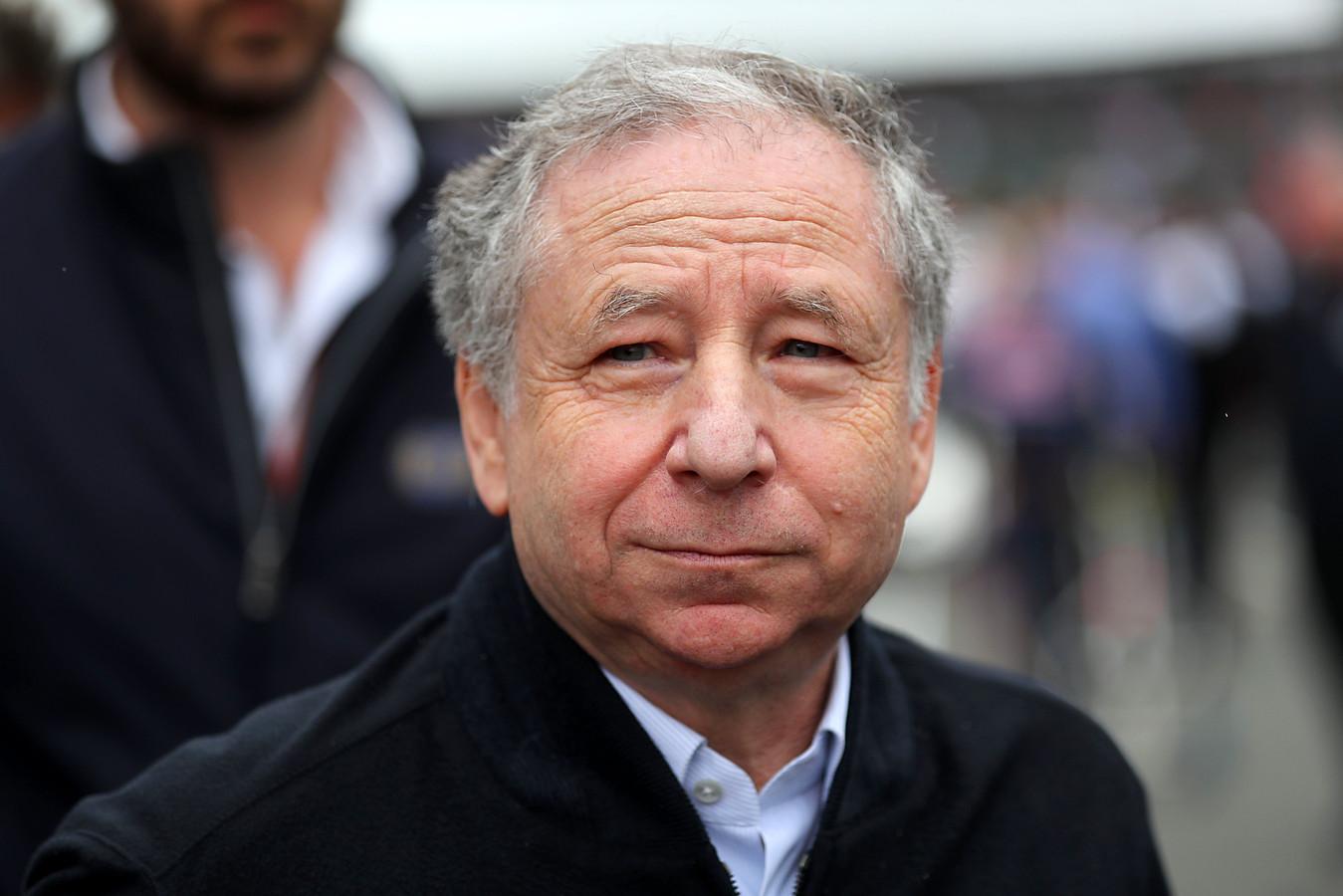 Jean Todt, président de la FIA.