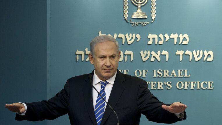 Premier Benjamin Netanyahu. Beeld ap