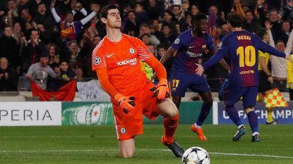 Barça jent Courtois in opbouw naar Clásico en toont hoe Messi hem al meermaals te kijk zette, papa Thierry reageert gevat