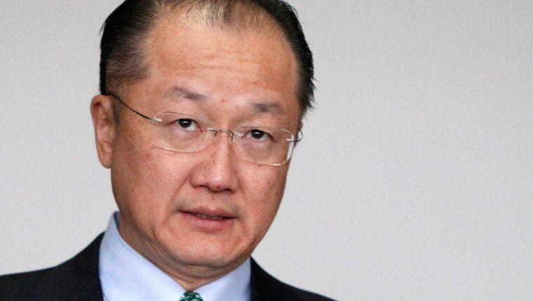 De Amerikaanse arts Jim Yong-kim wordt hoogst waarschijnlijk de nieuwe president van de Wereldbank. Beeld REUTERS