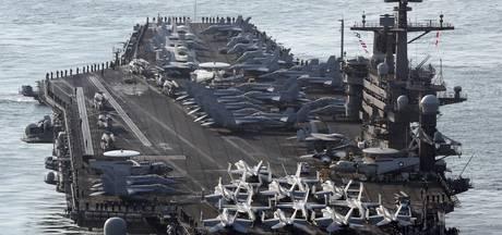 Noord-Korea dreigt met aanval op konvooi VS
