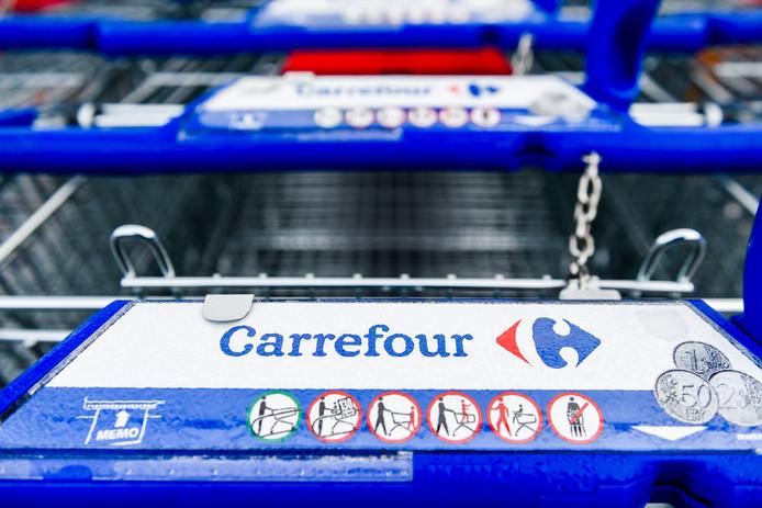 De Carrefour is met name in Frankrijk, België en Italië een bekend voorbeeld van een hypermarkt. BELGA PHOTO LAURIE DIEFFEMBACQ