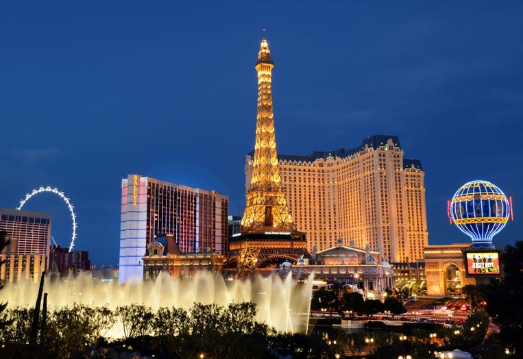 Las Vegas by night Beeld USP
