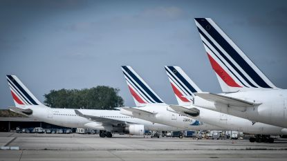 Weer vluchten geannuleerd door staking Air France