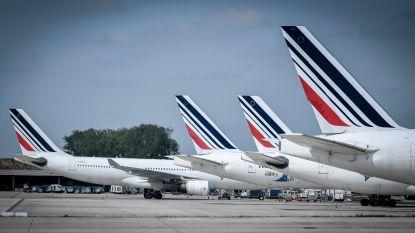 Weer vluchten geannuleerd door staking Air France
