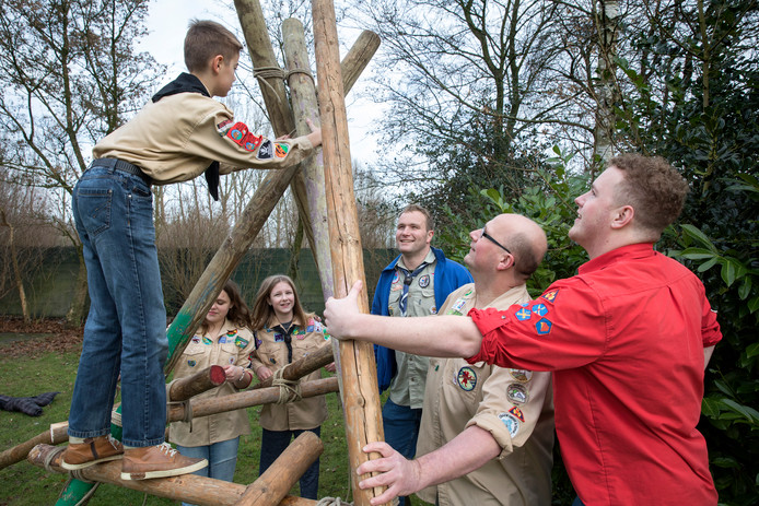 Een eerder evenement bij Scouting Schijndel.