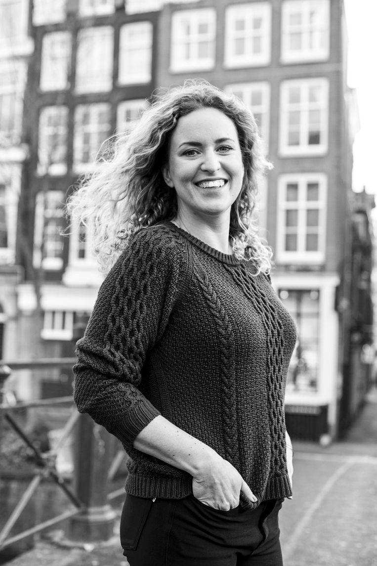 Suze Gehem, Oprichter van De Groene Grachten, Rooftop Revolution en Green Light District. Beeld -