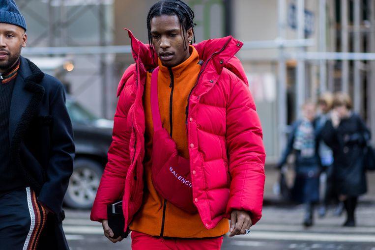 A$AP Rocky geeft een voorbeeld van hoe het wel moet. Beeld Getty Images