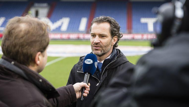 Algemeen directeur Berry van Gool van het in opspraak geraakte Willem II. Beeld pro shots