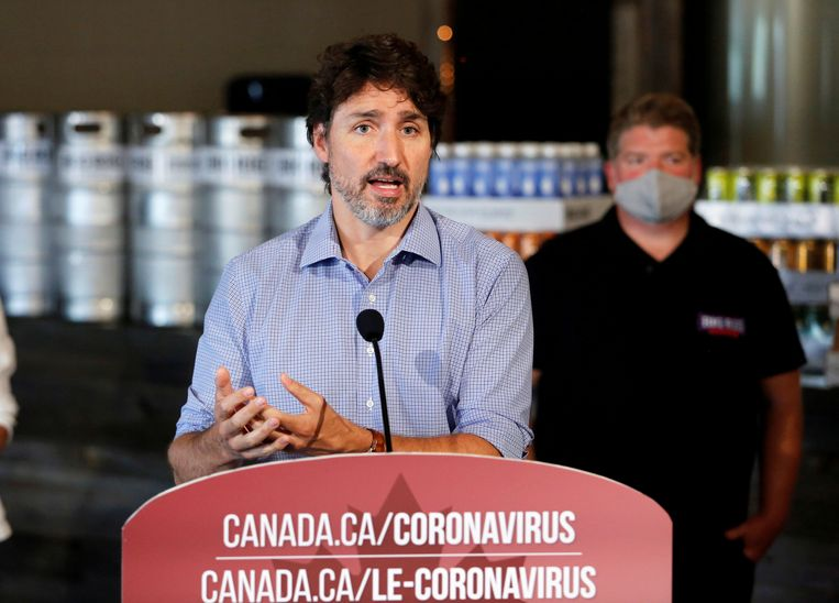 De Canadese premier Justin Trudeau ligt opnieuw onder vuur vanwege mogelijke belangenverstrengeling. Beeld REUTERS