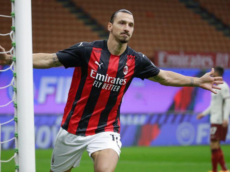 Ibrahimovic schittert ook tegen Roma