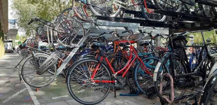 Vanaf maandag 16 september moeten alle fietsen weg zijn bij Moreelsepark