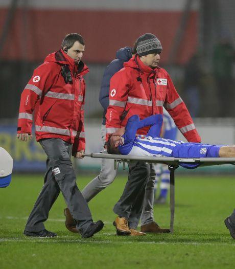 Vrees wordt bewaarheid: Faber weer lang out bij FC Eindhoven
