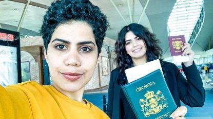 """Gevluchte Saudische zussen verlaten Georgië om """"nieuw leven in nieuw land"""" te beginnen"""