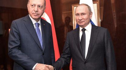 Poetin wil Erdogan niet ontmoeten op top over geweld in Syrië