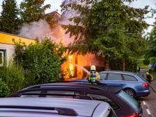 Vijf  branden in twintig minuten in Zutphen, politie zoekt brandstichter