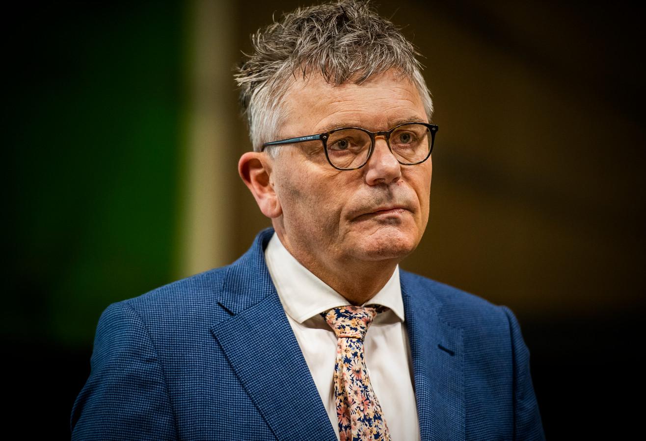 Arjen Littooij van de Veiligheidsregio Rotterdam-Rijnmond.