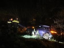 Bestuurder gewond bij Waspik na achtervolging op A59