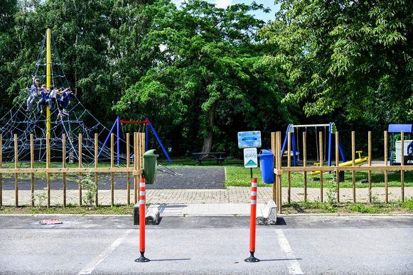 Illustratiefoto van een speelplein.