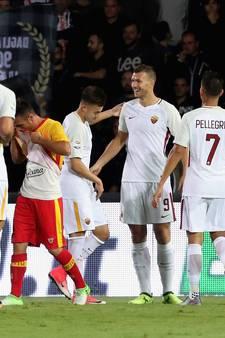 AS Roma makkelijk langs hekkensluiter Benevento