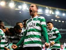 Dost twee keer trefzeker voor winnend Sporting