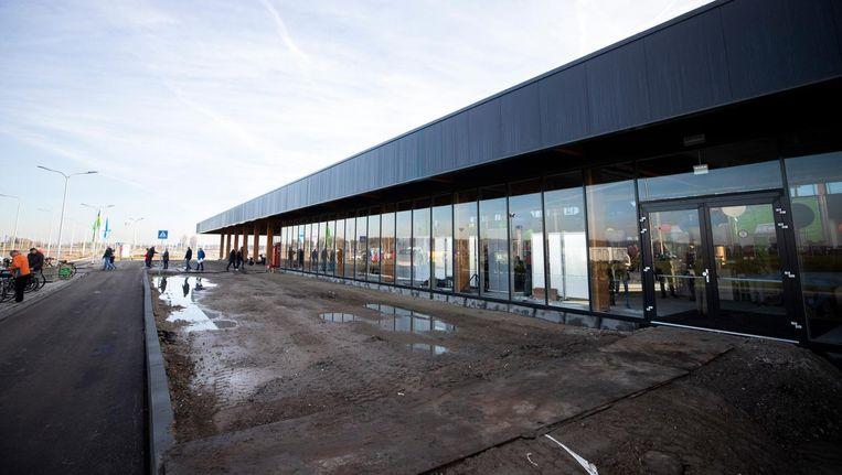 De nieuwe terminal van Lelystad Airport Beeld anp