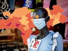 CORONAKAART | Elf doden en weer méér besmettingen in regio, kijk hier hoe het zit in jouw gemeente