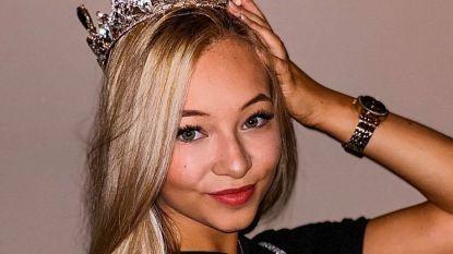 """Fee (17) wint prestigieuze Benelux-wedstrijd 'Queen of the Models 2019': """"Hier heb ik heel hard voor gewerkt"""""""