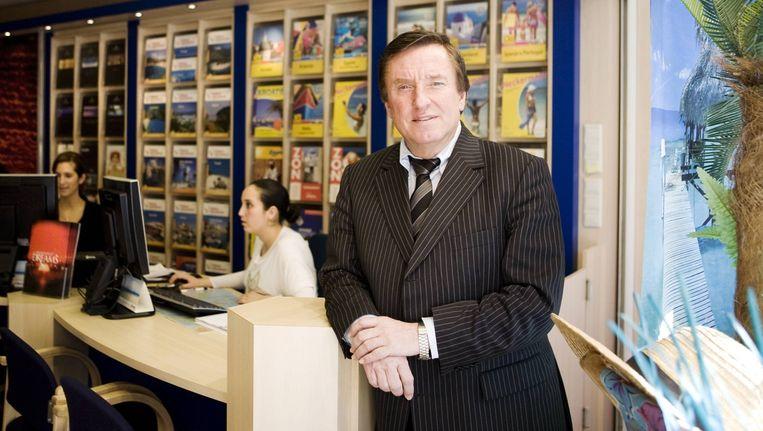 Hans Mosselman richt met Sol Fly een toeroperator op die juist reisbureaus wil bedienen, in plaats van alleen op internet actief te zijn. Beeld Ruud van Zwet