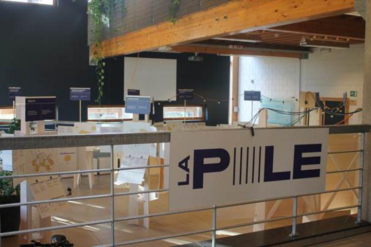 De tentoonstelling op Kamp C toont de elektriciteitswijk van de toekomst.