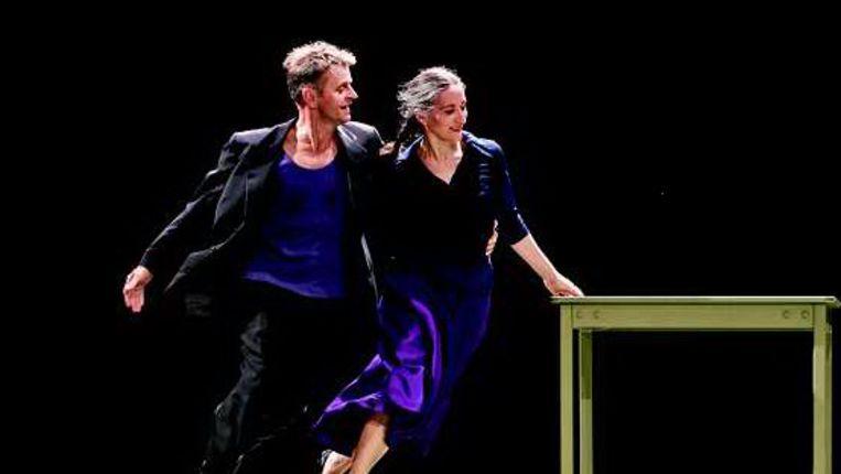 Three solos and a duet van Baryshnikov (Trouw) Beeld