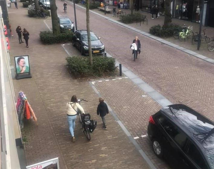 De Dorpsstraat in Oisterwijk.