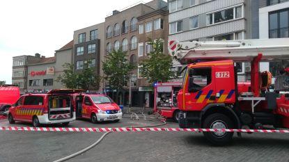 Chemisch ongeval op de markt van Deinze