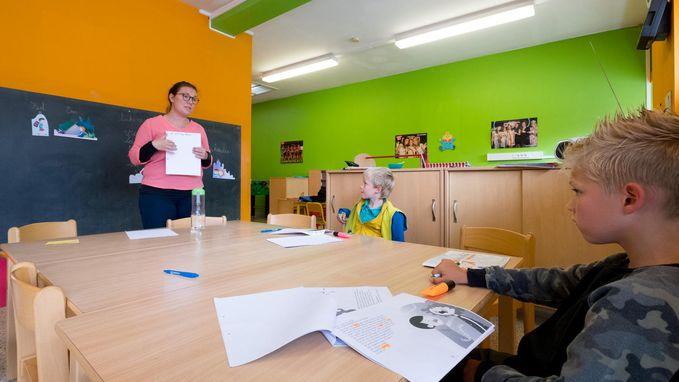 School De Hei geeft ook les in kinderopvang