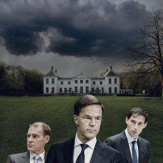 Boven eerste 'heisessie' van Rutte III zweeft het D-woord