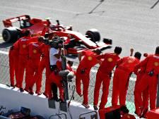 Leclerc laat tifosi eindelijk weer juichen na zinderend gevecht, Verstappen achtste