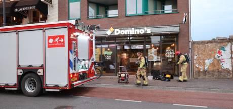 Brand in filiaal Domino's in Eindhoven door ontplofte accu van bezorgfiets