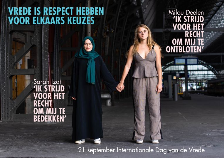 Sarah Izat en Milou Deelen Beeld Gotograaf Simone Frank en artdirector Sabine Verschueren