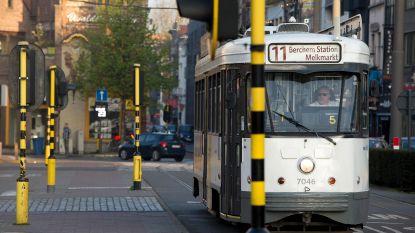 Antwerps tramverkeer nog zeker tot morgenochtend verstoord door stormschade