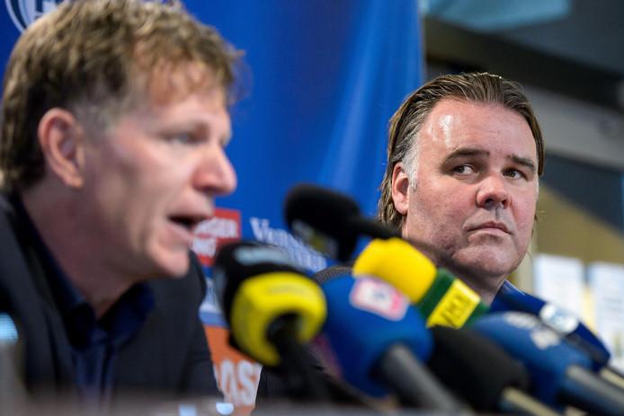 Jeffrey van As (l) en Fons Groenendijk.