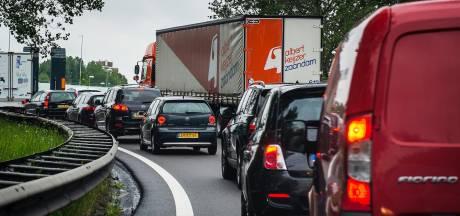 Ongeluk met vrachtwagen op A12