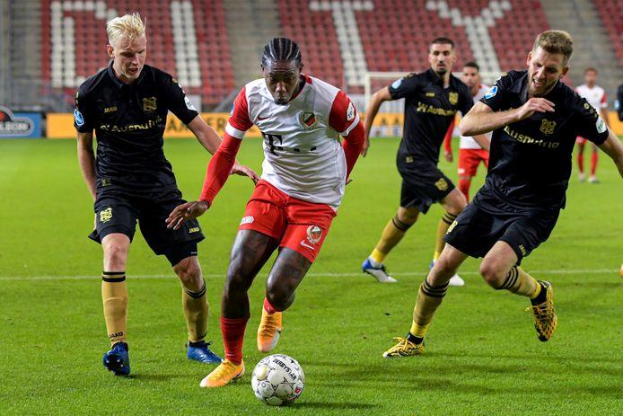 Eljero Elia viel een kwartier voor tijd in bij FC Utrecht, maar ook hij kon het verschil niet maken.