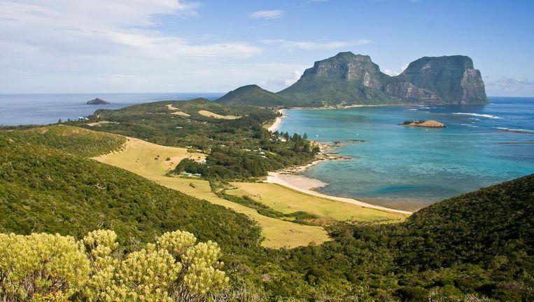 Het eiland Lord Howe