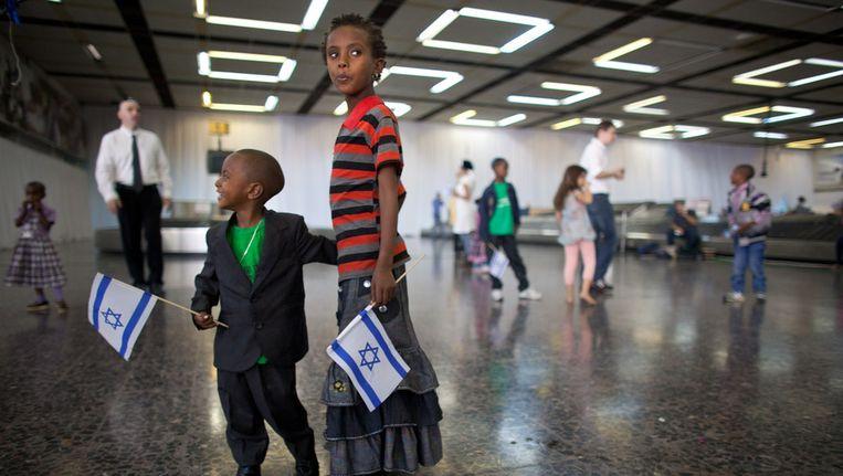 Luchthaven Ben-Gurion. Beeld getty