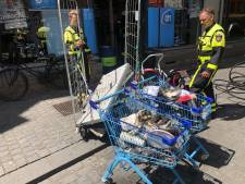 Supermarkt in Breda vol rook door brand