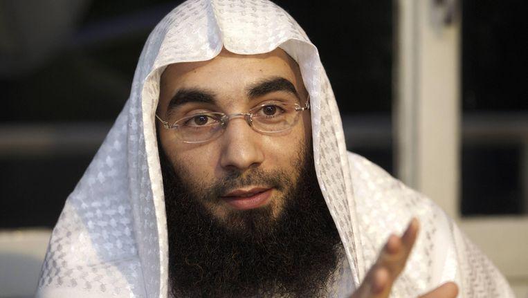 Fouad Belkacem van Sharia4Belgium. Beeld AFP