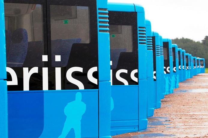 De Syntus stadsbussen.