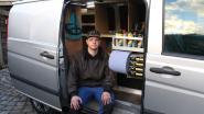 Dieven plunderen bestelwagen van Thomas (25) en nemen 7.000 euro aan gereedschap mee