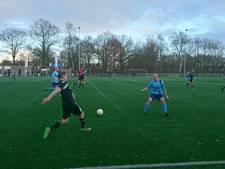Gelijkspel in derby tussen Hardenberg'85 en Lutten